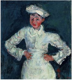 Chaim Soutine (1893-1943) Le petit pâtissier signed 'Soutine' (lower right) oil on canvas: 30 1/8 x 27 1/8 in. (76.5 x 68.9 cm.) Painted circa 1927