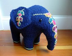 Elegant Elephant by Australian Women's Weekly Pattern does not contain gauge or size information.