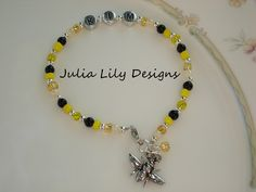 A personal favorite from my Etsy shop https://www.etsy.com/listing/240375601/personalized-bumblebee-bee
