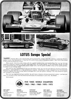 Lotus 1974