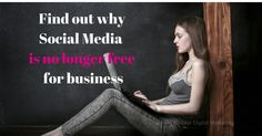 Businesses are always asking why does social media cost Digital Marketing, Investing, Social Media, Business, Free, Store, Social Networks