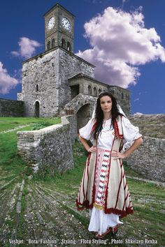Folk costumes Albania