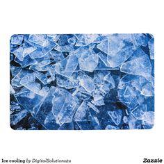 Ice cooling floor mat