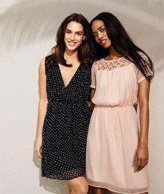 Feminin und stilvoll lassen diese beiden Cocktailkleid aus einem zarten Stoff von VERO MODA seine Trägerin erscheinen. Gratis Versand & Retour* bei Jeans-Meile.de