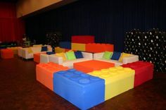 A Lego Inspired Bar Mitzvah Lounge - Ron Levy - Zimbio