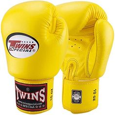 6e26622aa764 Twins Special Muay Thai Boxing Gloves BGVL3 Yellow