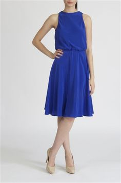 Rosalie Dress with Open Back - Crop by David Peck - 10% goes to charity. Manufactured in the US