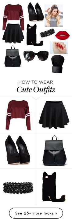 """""""My First Polyvore Outfit"""" by cucito-ivanova on Polyvore featuring WithChic, Giuseppe Zanotti, Sole Society, Chanel, Bling Jewelry, Lime Crime and NARS Cosmetics"""