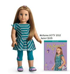 American Girl Doll of the Year McKenna GOTY 2012 Meet Accessories Water Bottle