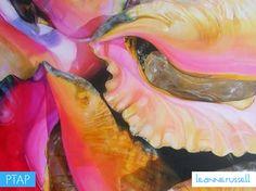 Meet The Artist: Leanne Russell Shared Office, Hip Hop Art, Driftwood Crafts, Meet The Artist, Art Programs, Small Island, Beach Art, Beach Themes, Contemporary Paintings