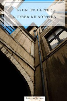 Découvrir les secrets de Lyon, les idées de sorties insolites à faire en famille ou entre amis ! #france Week End Lyon, Lyon City, Train Travel, Train Trip, Best Cities, France Travel, Where To Go, Travel Guides, Travel Destinations