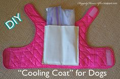 Happily Home After: DIY Puppy Cooling Vest (for Dogs of all sizes / ages)