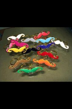 Mustaches - party favors