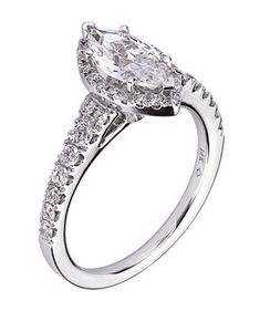 Scott Kay Diamond Engagement Ring | From asscher to round, take a peek at the elegant options for engagement rings.