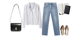 """""""Untitled #406"""" by chromatography ❤ liked on Polyvore featuring Margaret Howell, Opening Ceremony and Cartier"""