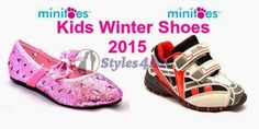 Minnie Minors Kids Shoes 2015 | Stylish Winter Shoes For Small Boys And Girls