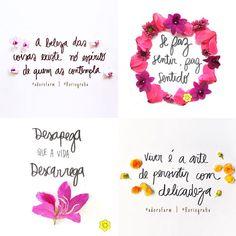 Muitas vezes, tudo o que a gente precisa são palavras bonitas, mensagens positivas, um conselho no momento certo, um tiquinho de otimismo. E em meio à correria que anda...
