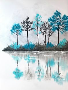 Join us for a Paint Nite event Sat Apr 2016 at 1595 Eureka Road Roseville, CA. Purchase your tickets online to reserve a fun night out! Night Painting, Art Painting, Tree Art, Painting Inspiration, Painting, Painting Art Projects, Canvas Art, Abstract, Canvas Painting Diy