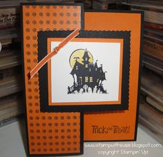 Stampin' Up! 'Best of Halloween' Haunted House