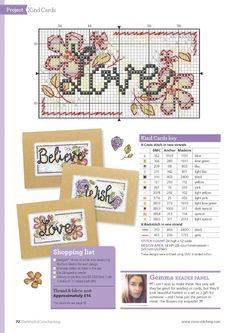 Stitch Some Happiness (Durene Jones) From The World of Cross Stitching N°243 July 2016 3 of 5