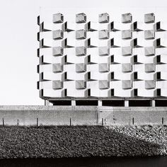 this could be an apartmnet bulding as well. carpark by Philippe Brysse