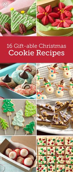 From family and friends to co-workers and neighbors, there's one gift that's always a hit: Christmas cookies! Spread cheer this year with any of these brilliant (and delicious!) ideas.