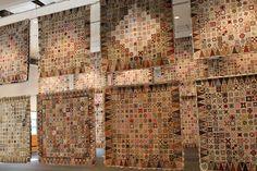 Loads of Dear Jane quilts