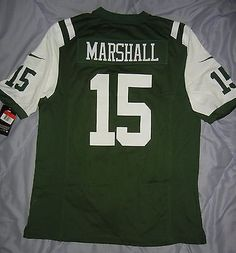 Brandon Marshall New York Jets Home NWT Nike Game Jersey Size XXL 2XL UPDATED