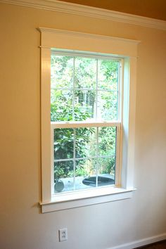 One Simple Way To Choose Interior Window Trim Is Match It The Home S Other