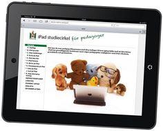 iPad Studiecirkel på webben för pedagoger.  iPad Study online learning for teachers in swedish.