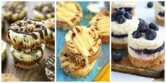 18 Mini Cheesecakes That Are the Perfect Combination of Adorable and Delicious  - Delish.com