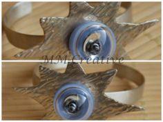 Armspange.Glasperle, glassbeads, lampwork, Artclay, PMC, Schmuck