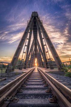 Railway into the sun by Romowa