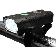 Pro USB Rechargeable Bike Light Set Front And Tail Lights Ultra Bright Headlight #UnchartedRoadsGear
