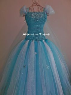 Elsa Inspired Frozen Tutu dress
