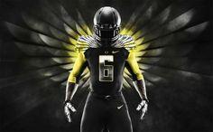 Oregon Ducks Unveils 2014 Nike Mach Speed Blackout Uniform