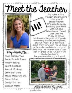 Meet the Teacher editable letter- Make parents and students feel welcome by sending them this personalized Meet the Teacher letter before Back to School. They will love getting to know their new teacher before the school year begins.