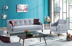 Fotoliu fix tapitat Lupo Gri cm Sofa, Couch, Interiores Design, Love Seat, Modern, Furniture, Home Decor, Settee, Settee