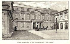Antique print Noordeinde palace The Hague Holland / Paleis Den Haag 1887