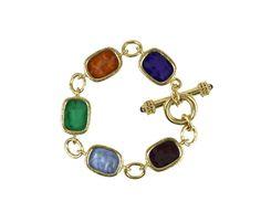 Elizabeth Locke Jewelry | ELIZABETH LOCKE Intaglio Toggle Bracelet at 1stdibs