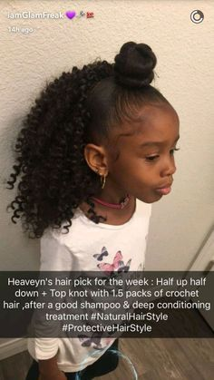159 Best Elementary School Natural Hairstyles For Kids Images