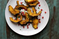 curried acorn squash 'm back in my kitchen this week… back from making pies with you up and down the east coast… back from gently and not so gently asking you to buy my dang book… back to my roasting pan. This acorn squash was patientlyRead more