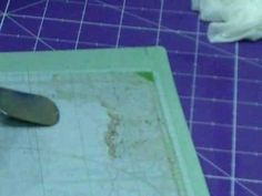 Making Cricut Mat Sticky Again (Part 1)