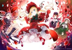 rozen maiden shinku souseiseki suigintou suiseiseki yuugen wallpaper background