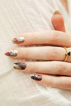 Proenza Schouler Fall 2012 Inspired Nails.