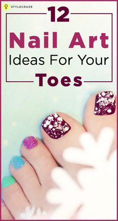 You can now make your toe Nails happier by following the 12 Nail art Ideas for your Toes from STYLECRAZE.
