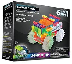 Includes Zippy Do Power Base, 1 laser peg, 66 tinted interlocking building pieces, instruction manual & batteries. 100% compatible with other major construction kits. Laser Pegs construction sets encourage forward-thinking multi-dimensional play Once connected to a power base, Laser Pegs light up a long lasting, colored LED - so your creation lights up as it's built!  Because they are open ended they can even be used with other building toys such as Magformers, Magna Tiles, Tegu, Play...