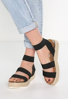 979bfdb8063 KIMMIE - Sandals - black - Zalando.co.uk · Steve Madden Platform ...