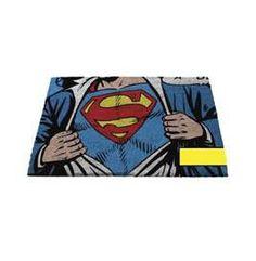 Superman - Door / Floor Mat (Size: x (Doormat) (Clark Kent) Dc Comics, Estilo Geek, Harry Potter, Superman Comic, Clark Kent, Floor Mats, Clarks, Star Wars, Cosplay
