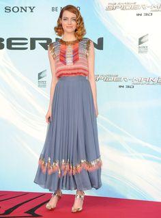 Emma Stone wears Chanel for 'Spidey 2′ Berlin premiere
